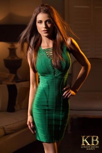 Nicole brunette escort
