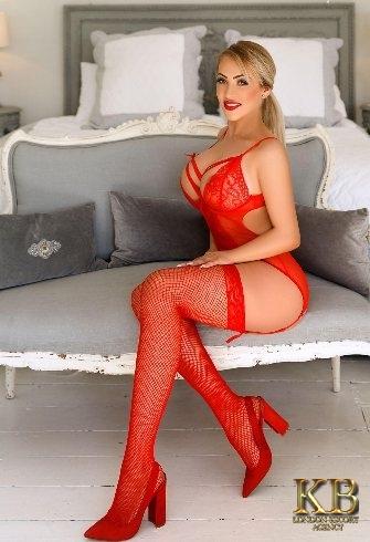 blonde London escorts