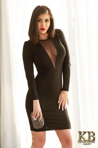 Valeria brunette busty