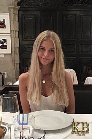 Sasha slim London escort