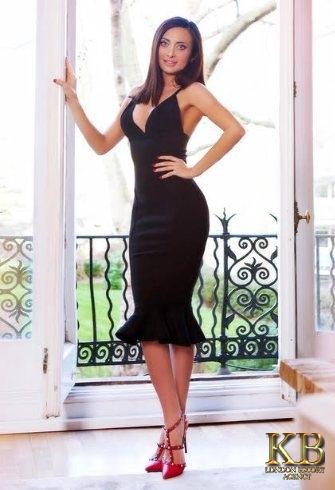 Slim escort model in London