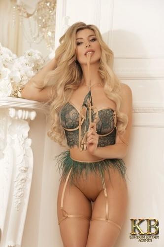 Bruna Russian Blonde London Escort
